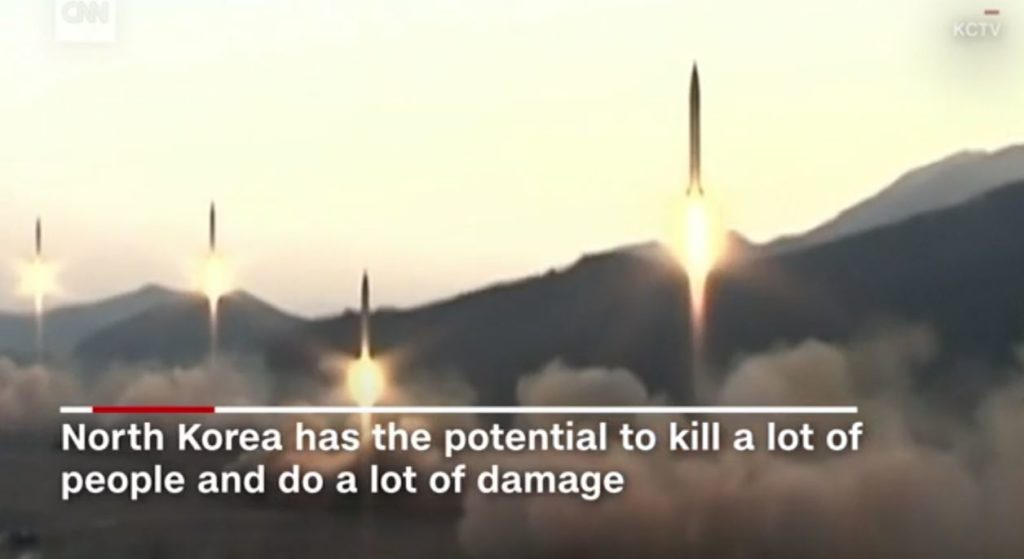 Korea Tensions Mount After Missile Launch