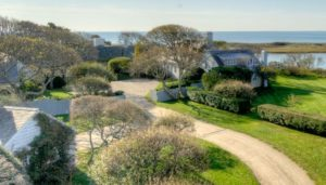 The 26-acre Mellon Cape Cod estate.