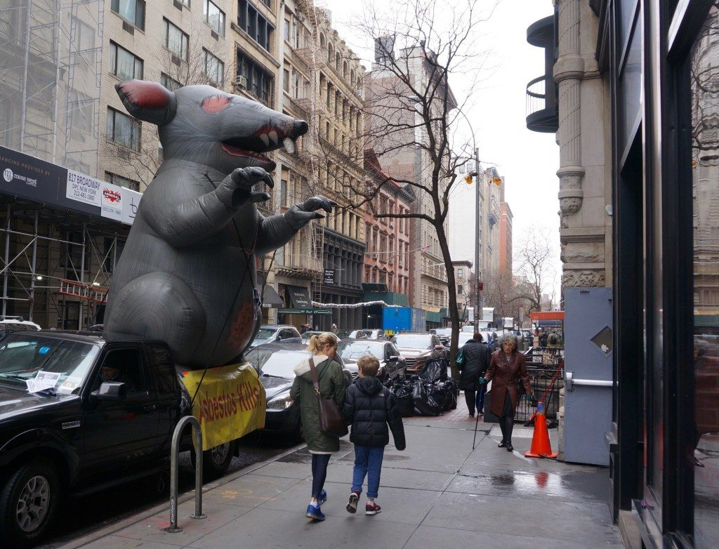 Radical Republicans Want to Exterminate the Inflatable Union Rat