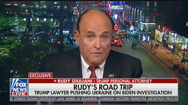 What Exactly Did Giuliani Do on His Overseas Excursions?