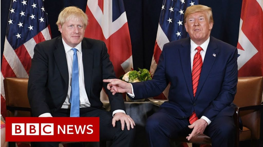 Donald Trump and Boris Johnson.